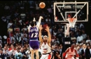 John Stockton made Bryon Russell help him re-enact famous shot that sent Jazz to '97 Finals