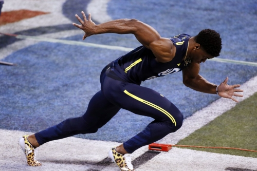 Falcons stop at UConn's pro day to watch safety Obi Melifonwu