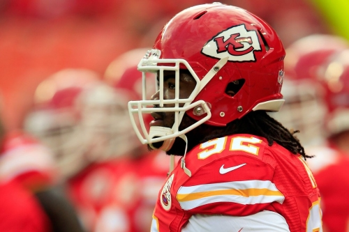 How does the addition of Dontari Poe affect the Falcons' defense?