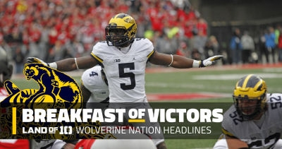 The start of spring (practice) for Michigan, pro day workouts, academic honors and more…