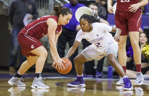 Playing through her grief, WSU women's basketball's Pinelopi Pavlopoulou has helped the Cougars turn a corner
