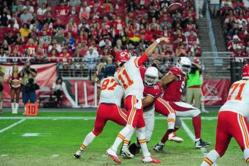 Alex Smith's stats vs. Chiefs 2017 opponents