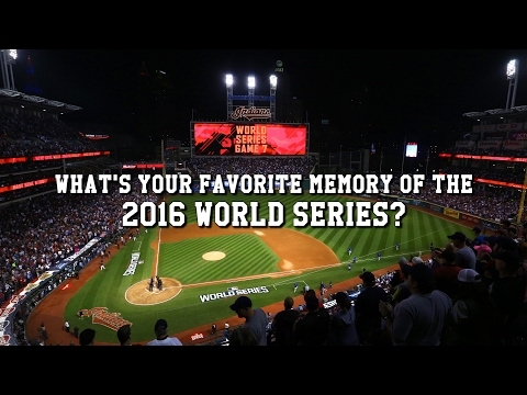 Cleveland Indians fans share favorite memories of 2016 World Series (video)