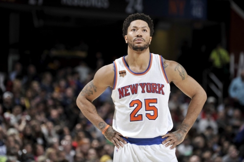 Rose open to re-signing with Knicks and committing to triangle