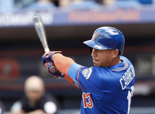 Asdrubal Cabrera gets ejected... during Mets spring training game