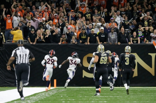 'Leaper' on blocked PAT in Saints' 2016 loss to Denver could be banned in 2017