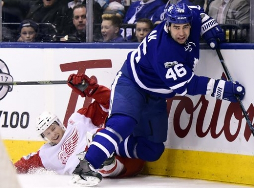 Maple Leafs' Roman Polak suspended 2 games for boarding The Associated Press