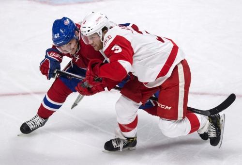 Nick Jensen adjusting well to Red Wings top defense pairing