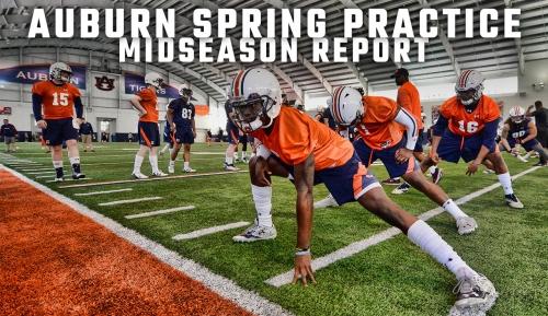 Auburn mid-spring practice report: Updates on personnel