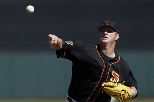 Matt Cain will probably be the fifth starter