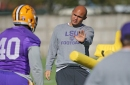 LSU defense shows progress with nickel looks at Thursday practice