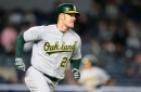 Mark Canha has open road to Oakland A's outfield