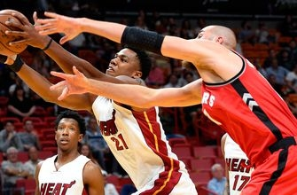 Heat fizzle in 4th quarter, finish homestand with loss to Raptors