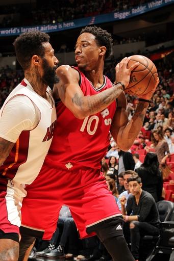 DeRozan gets 40, Raptors rally again to beat Heat 101-84 The Associated Press