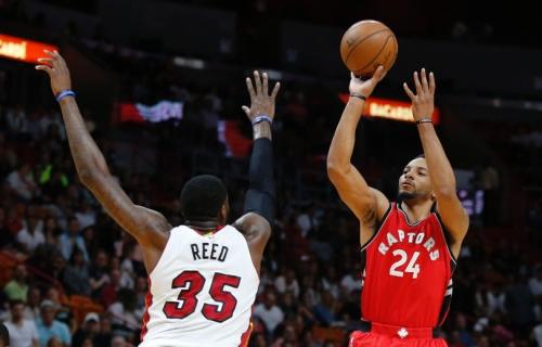 Raptors beat the Heat after sluggish start to game
