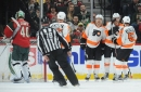 Wild fall to Flyers in lackluster loss