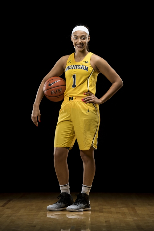 Michigan women surge in second half, top Red Storm 60-40 in WNIT