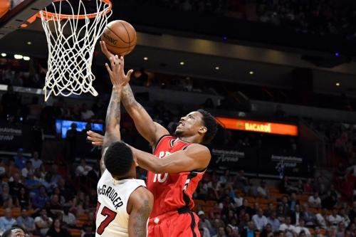 Raptors claw back again, beat Heat 101-84