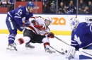 New Jersey Devils Rushed Down by Toronto Maple Leafs, 2-4