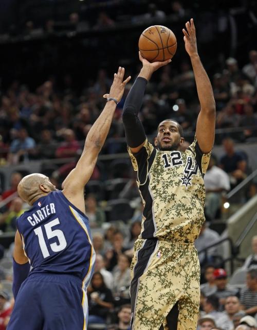 Aldridge, Leonard lead Spurs to 97-90 win over Grizzlies The Associated Press