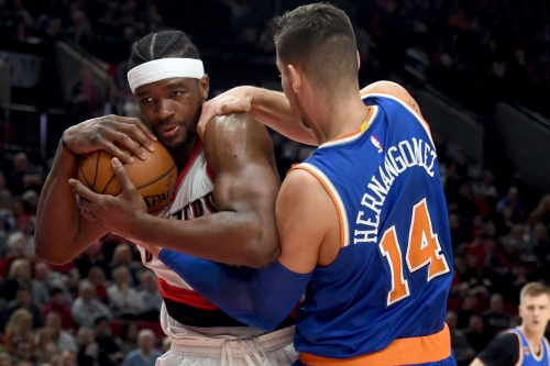 Trail Blazers 110, Knicks 95: Scenes from a youthful loss