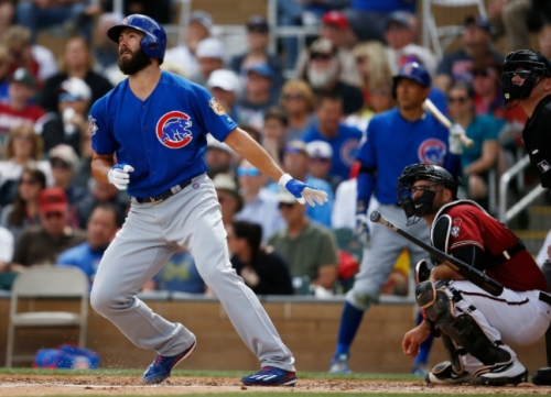 Jake Arrieta hits long home run, Cubs settle for tie vs. DBacks