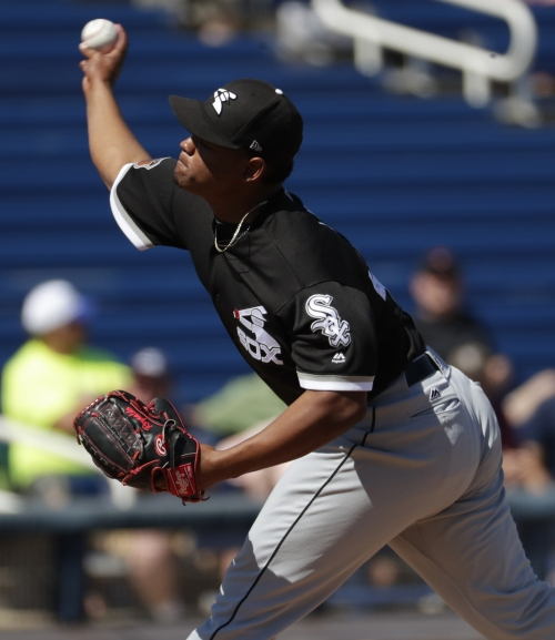 Lopez disappointed, but knows time will come with White Sox