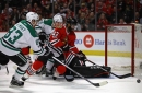 Game 73 Afterwords: Ales Hemsky and Corey Crawford