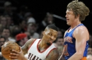 Trail Blazers 110, Knicks 95: 'That sucked, but luckily I have the Knicks to cheer me up'