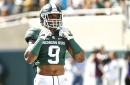 Montae Nicholson has no regrets about leaving Michigan State for NFL