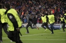 UEFA fines Barcelona for fans celebrating 6-1 win on pitch The Associated Press