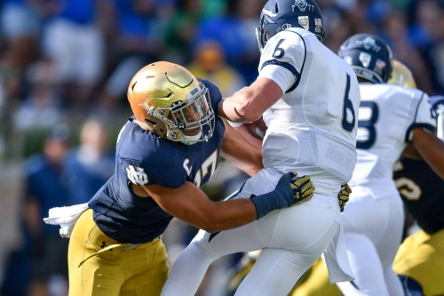 Notre Dame Football: James Onwualu's 2017 Pro Day Results and Linebacker Class Comparisons