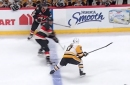 Sidney Crosby nearly chopped an opponent's finger off with slash