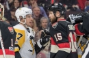 Crosby's a lightning rod, but there's almost nothing to his slash on Methot
