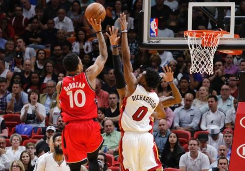 Raptors-Heat: DeRozan reaches a new level