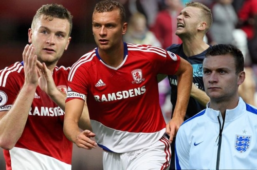 From Boro schoolboy to lower league loan spells to England call-up: Rise of Ben Gibson