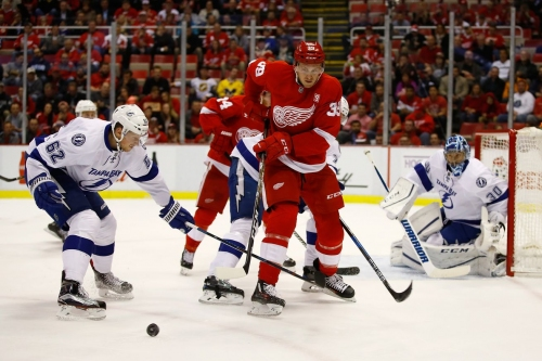 Gameday Updates: Lightning at Red Wings updated line combinations, key matchups