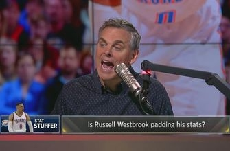 Russell Westbrook is padding his stats to get triple-doubles | THE HERD