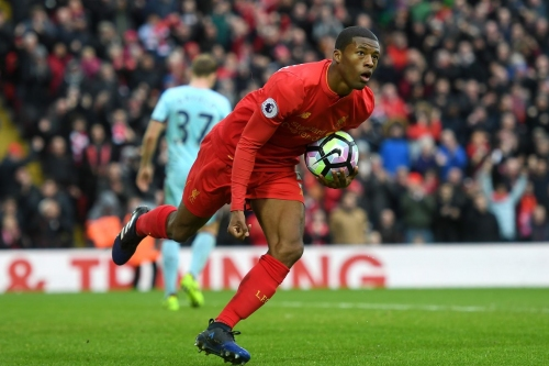 Wijnaldum and Sakho Nominated for March Player of the Month