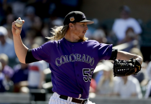 Jon Gray leaves Rockies Cactus League game with sore foot