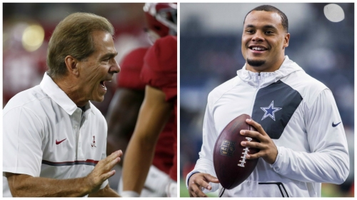 How Dak Prescott says his mother once shut down Nick Saban on the recruiting trail