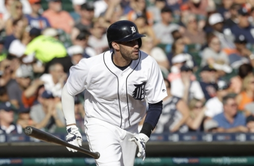 Detroit's J.D. Martinez expected to miss 3-4 weeks The Associated Press