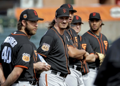 Giants notes: There's no hiding how strong Dave Righetti's rotation appears to be