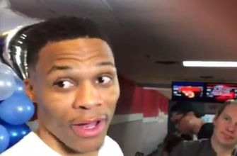 Watch: Russell Westbrook is so happy to be mentioned on Kendrick Lamar's new song
