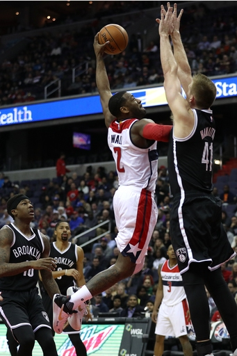 Wizards jump out early, cruise to 129-108 victory over Nets The Associated Press