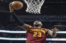 Cavaliers 112, Hornets 105: LeBron James' free-throw shooting helps Cavs surviving frightening moments against scrappy Hornets