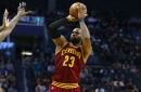 Final score: Dominant LeBron James leads Cavs to road win over Hornets