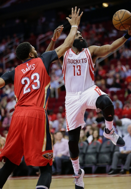 Harden's 38 points lead Rockets over Pelicans 117-107 The Associated Press