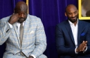 Lakers legends and former teammates turned out in droves for Shaq's statue ceremony