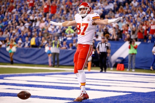 The NFL will have an educational video for Travis Kelce to watch before he celebrates again